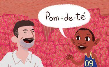 Imagen de Jordan y sus dos lenguas