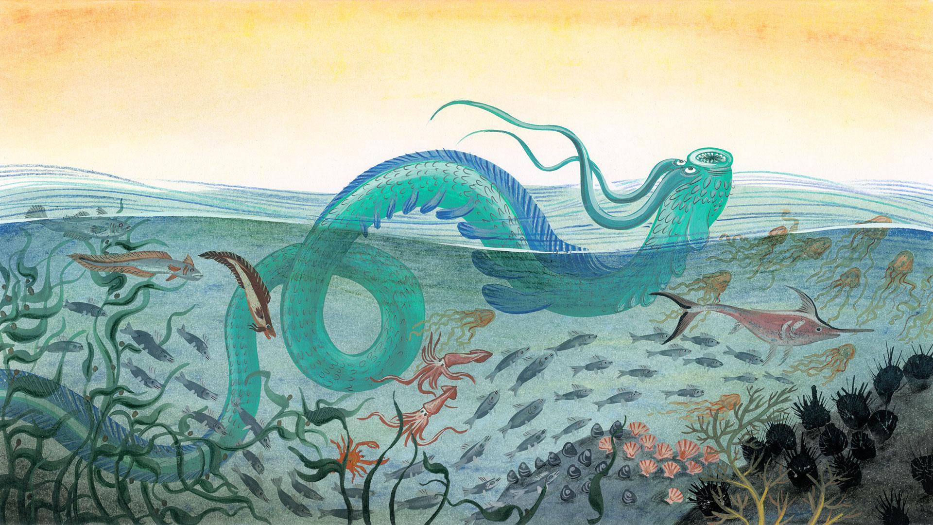 Imagen de Kai Kai, la cuidadora de las aguas