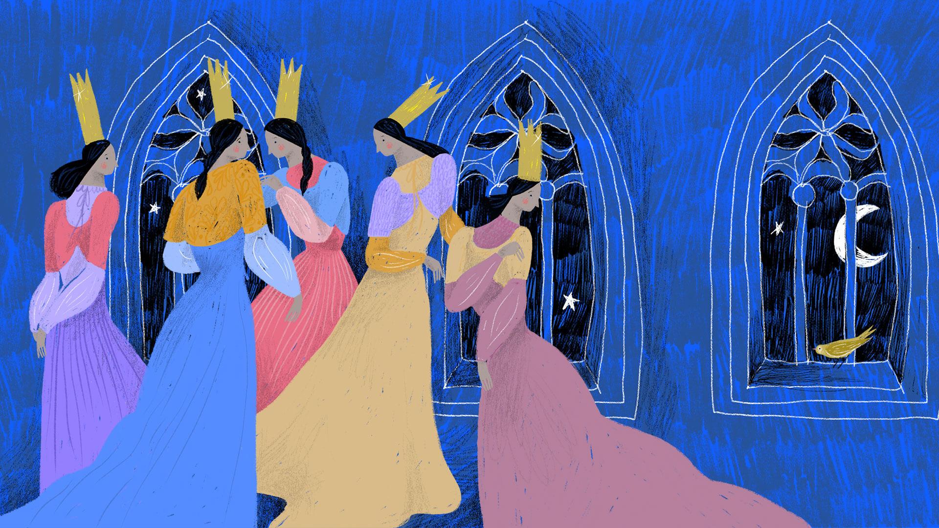Imagen de Las doce princesas bailarinas