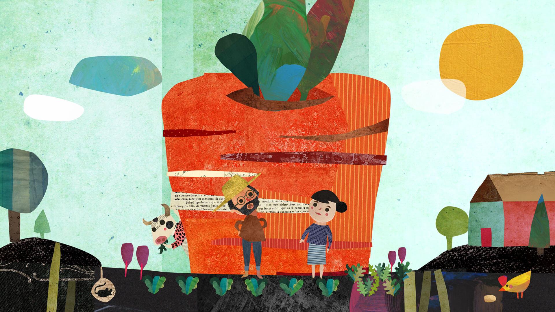 Imagen de La zanahoria gigante